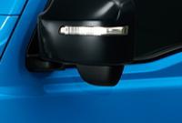 新型ジムニーのLEDサイドターンランプ付ドアミラー