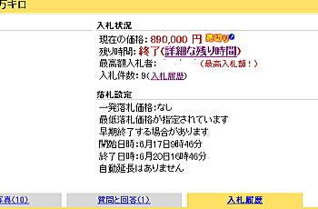 Goo-net買取オークション入札状況