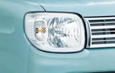 オートレベリング機構付LEDヘッドランプ