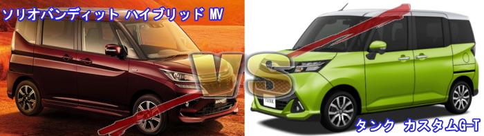 ライバル車と競合