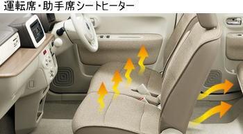 ラパンのシートヒーター