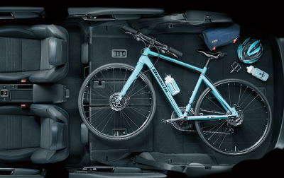 レヴォーグの荷室サイズ・2名乗車
