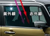 ハスラーJスタイルⅢ・フロントドアガラス