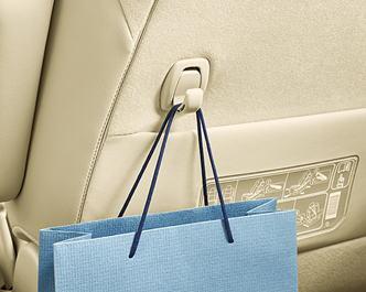 アルファードX/S Aパッケージ/Sに標準装備の運転席・助手席シートバックポケット&買い物フック