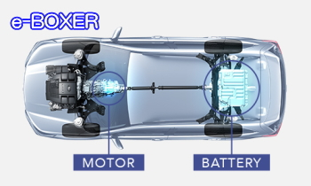 e-BOXER搭載(ハイブリッド)のフォレスターアドバンス
