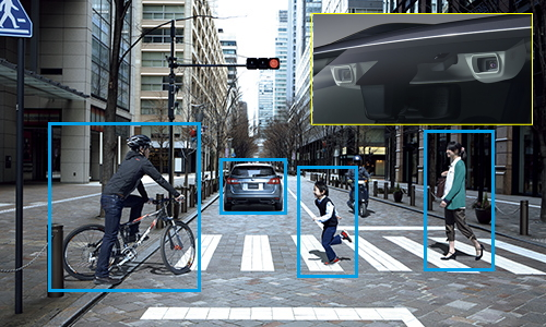 スバルの先進安全運転支援システム「アイサイト」が標準装備