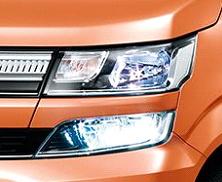 ワゴンR LEDヘッドランプ