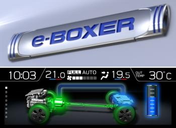 フォレスター アドバンスのe-BOXER(イーボクサー)