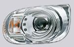 ムーヴキャンバスGメイクアップSAⅢのLEDヘッドランプ