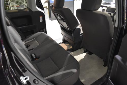 スペイドの後部座席の乗り心地について