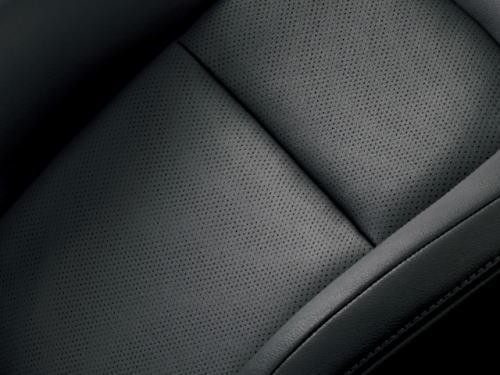 AX Gセレクションの本革&人工皮革シート表皮(ブラック)