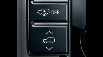 リア電子制御エアサスペンションスイッチ