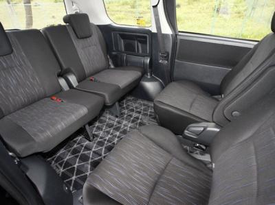 70ヴォクシーの車内空間・回転シート