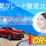 新型CR-Vの人気グレードを比較!リセールバリューから見るおすすめのグレードは?