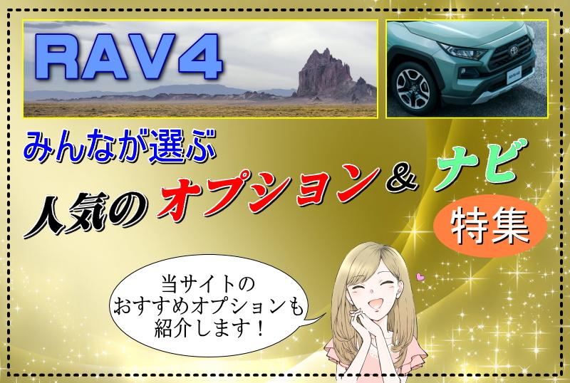RAV4のみんなが選ぶ人気のオプション&ナビ特集