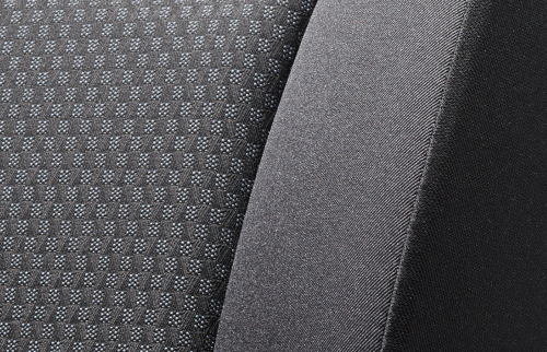 フィットのシート表皮・デザイン〇13G系(ブラック)