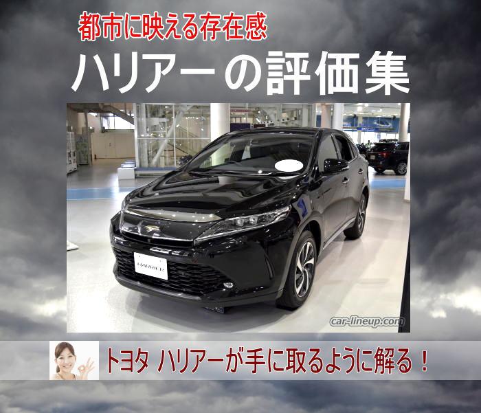 トヨタ ハリアーの評価集!
