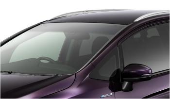シャトルハイブリッドの遮音/IR&UVカット機能付フロントガラス