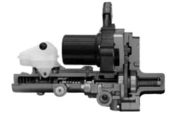 シャトルハイブリッドの電動サーボブレーキシステム