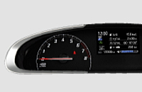 シエンタ1.5Gのオプティトロンメーター