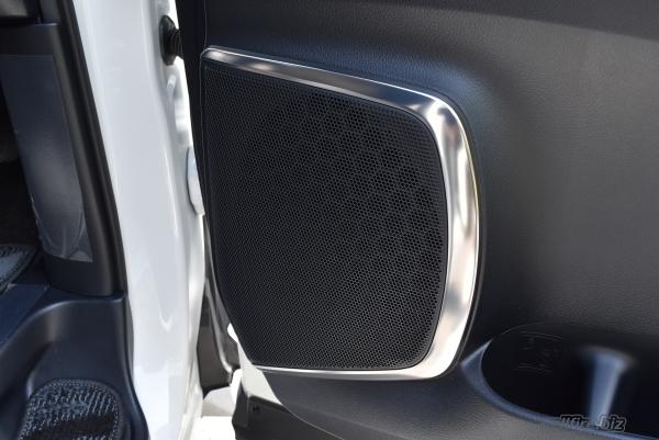 ヴェルファイアの運転席側のスピーカー