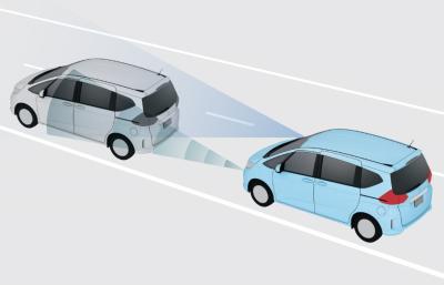 自動ブレーキ「衝突軽減ブレーキ CMBS」