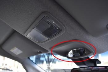 フリードの車内確認用ミラー