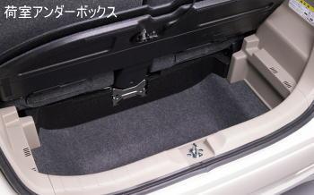 NWGNの荷室アンダーボックス