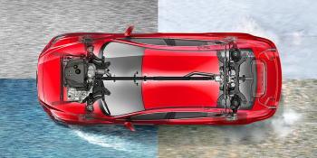 アテンザ アイアクティブ4WD イメージ図