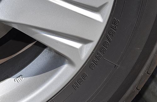アルファード2.5Xの乗心地の秘密はタイヤサイズにあり?