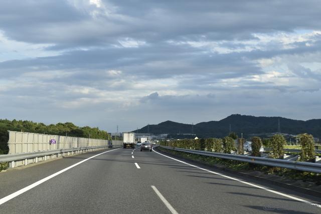 高速道路でのヴォクシーの乗り心地