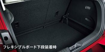CX-3の荷室