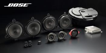Boseサウンドシステム+10スピーカー