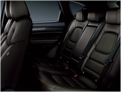 CX-5の後部座席の乗り心地