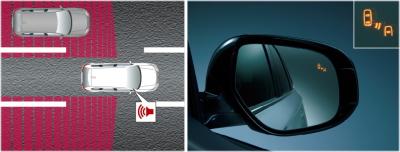 後退時車両検知警報システム(RCTA)