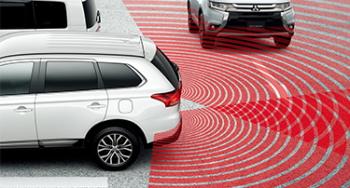 後退時車両検知警報システム