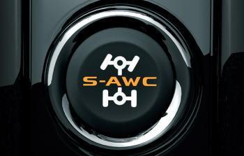 アウトランダーのS-AWC ドライブモードセレクター