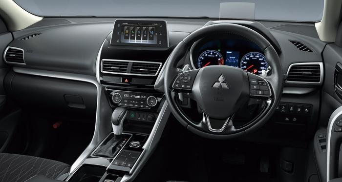 新型エクリプスクロスG 4WDのインテリア