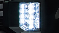 LEDヘッドライト(光軸自動調整機構付)