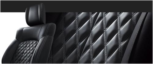 デリカD5のシート表皮・本革シート