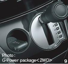 デリカD52WDのインパネポケット