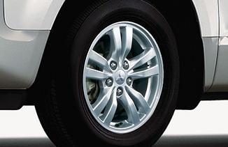 デリカD5のアルミ&タイヤ