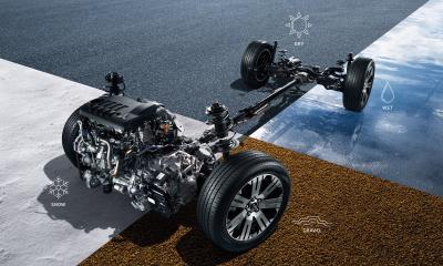 デリカD5 4WDのシステム(アクティブオンデマンド式4WD)