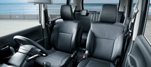 ソリオの内装カラー・車内空間