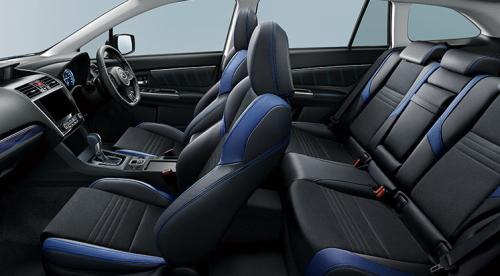 特別仕様車 1.6GT-Sアイサイト アドバンテージラインの車内空間