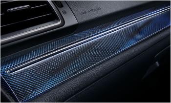 特別仕様車 1.6GT-Sアイサイト アドバンテージラインのブルーアクセント