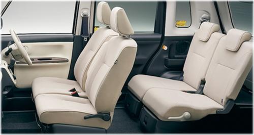 特別仕様車 ホワイトアクセントリミテッドSAⅢ・車内空間(モカ)