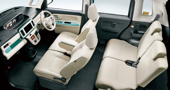 特別仕様車 ホワイトアクセントリミテッドSAⅢ・車内空間(ミント)