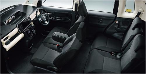 特別仕様車 ブラックアクセントリミテッドSAⅢ・車内空間