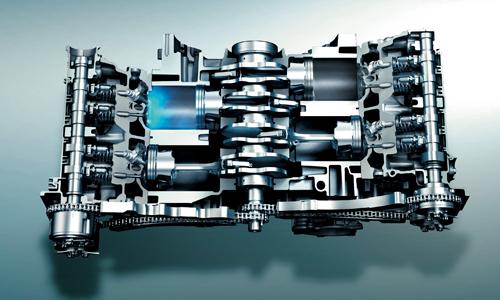 インプレッサスポーツのエンジン